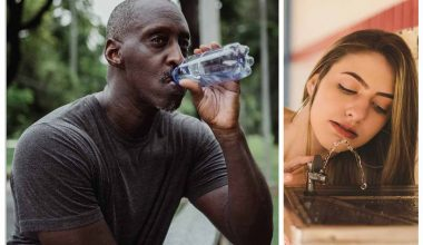 Drinking bottled vs tap water