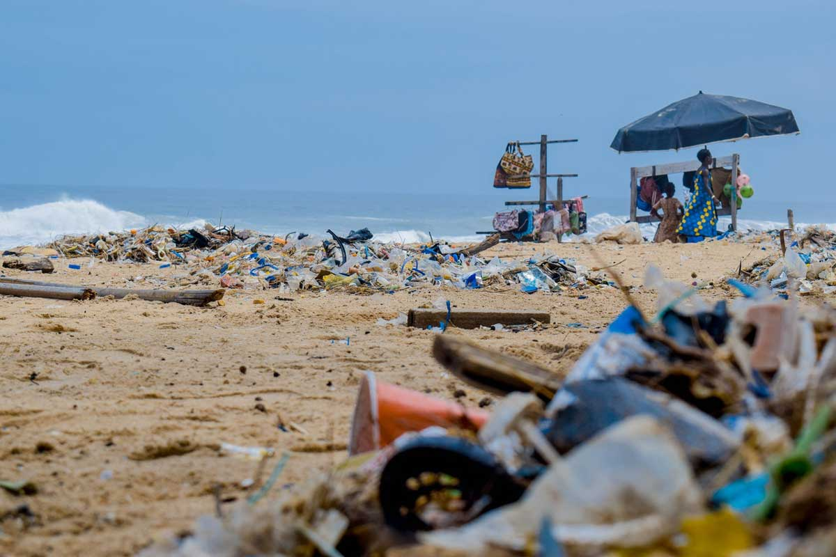 Environmental Impact of Tourism  Trashy Beaches