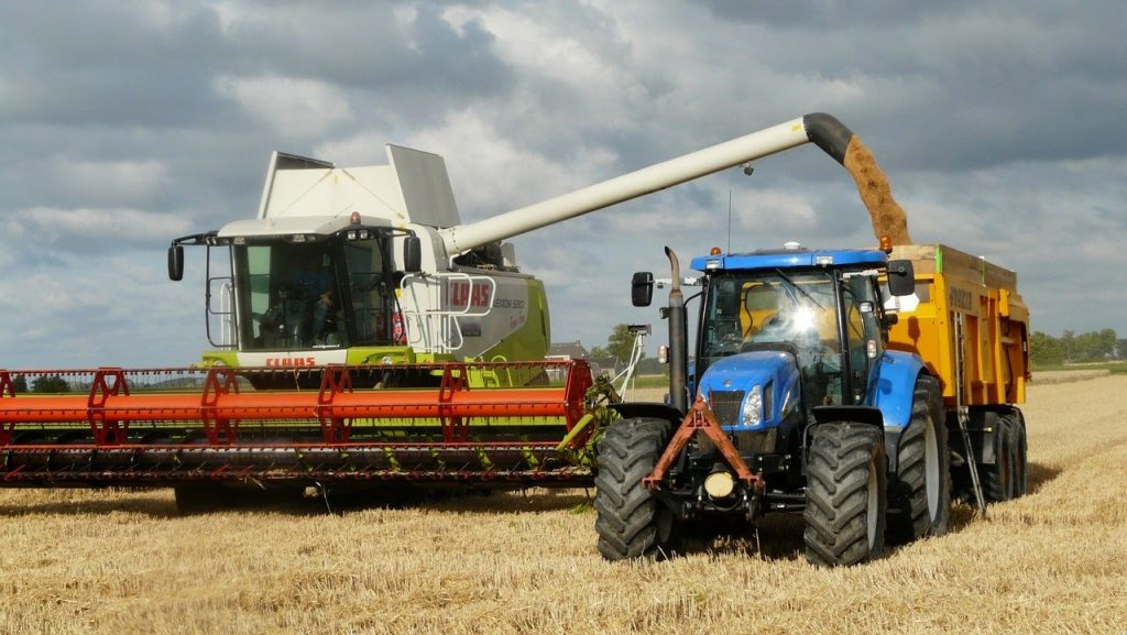 Conventional Farming uses machinery which has high environmental impact!