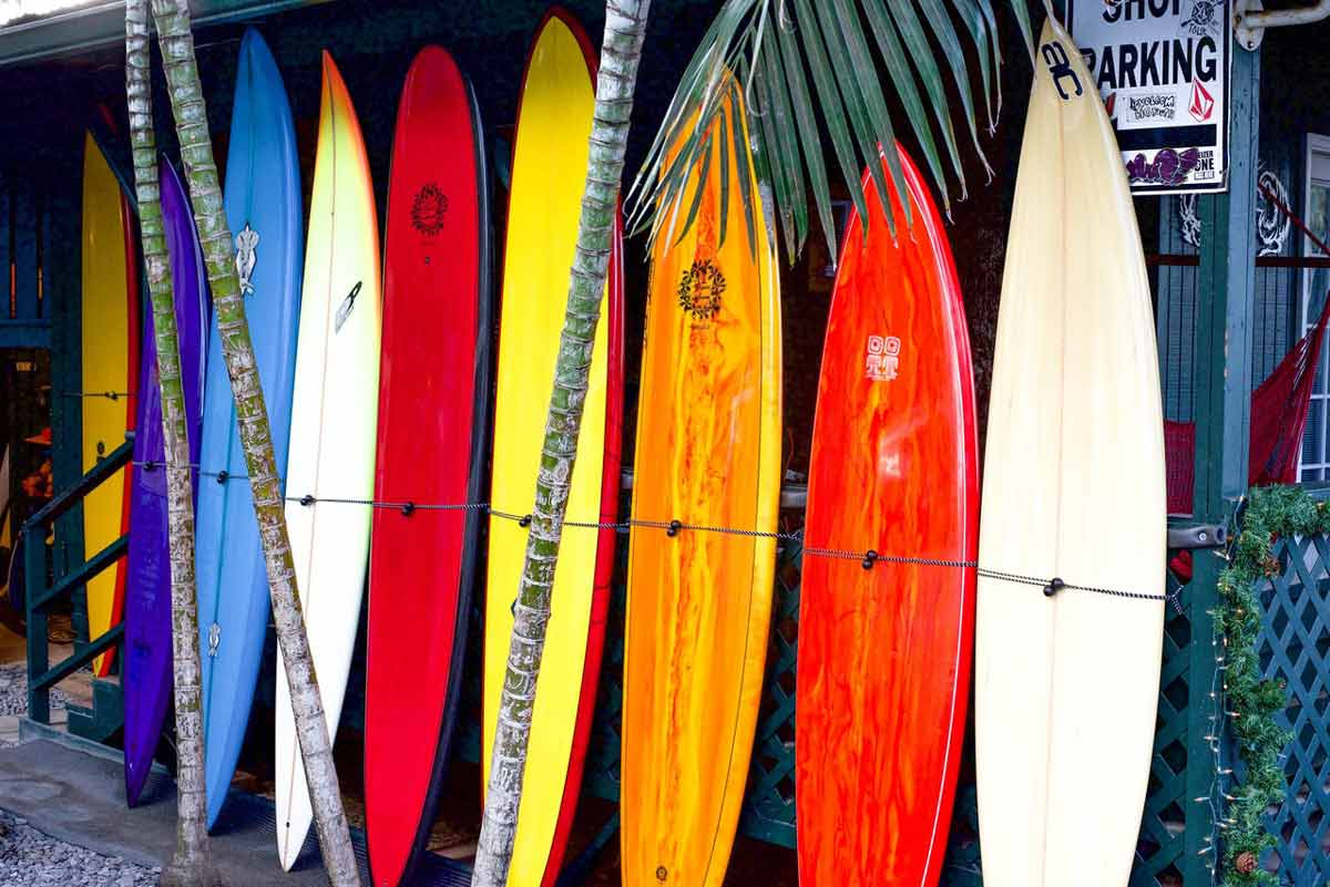 Balsa is used to make Surfboards