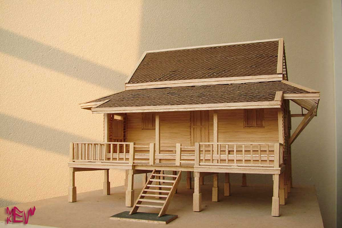 Balsa is used to make architectural models