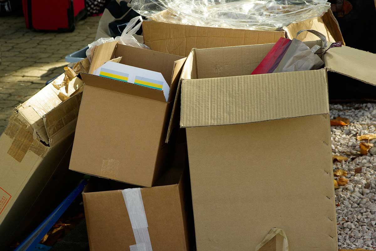 Use Recycled material for packaging