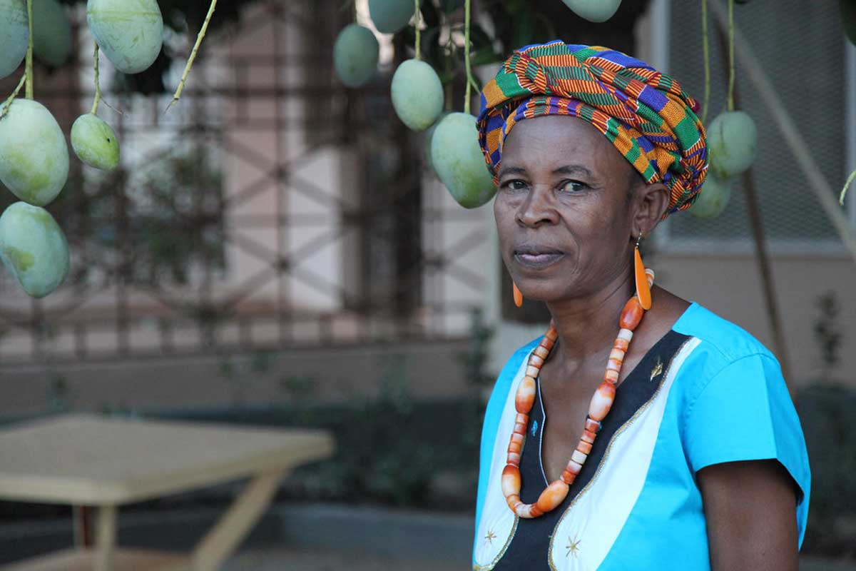 Patricia Diannon represents many small scale farmers in Ghana.