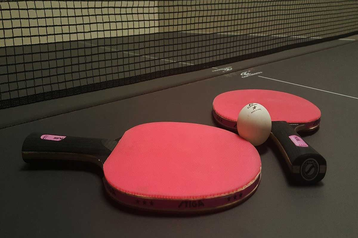 Balsa is used to make table tennis rackets.