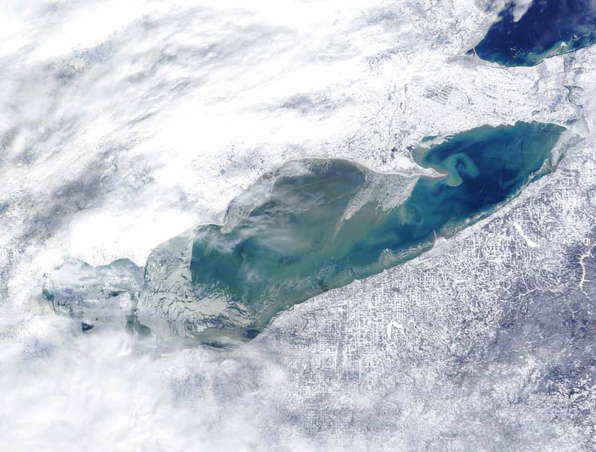 Lake Eerie - One of Largest Lakes of the World