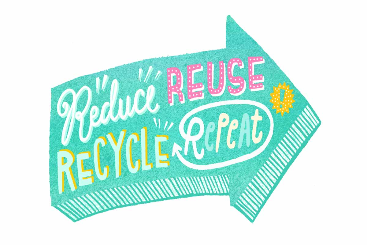 Reduce Reuse Recycle and Repeat